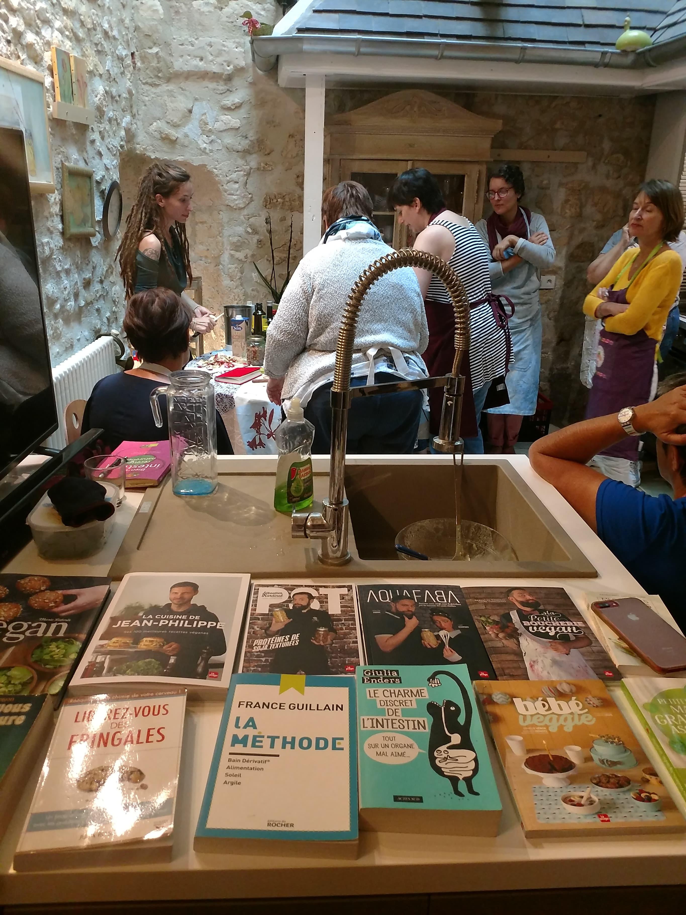 Livres cuisine végétale et naturopathie Compiègne Oise